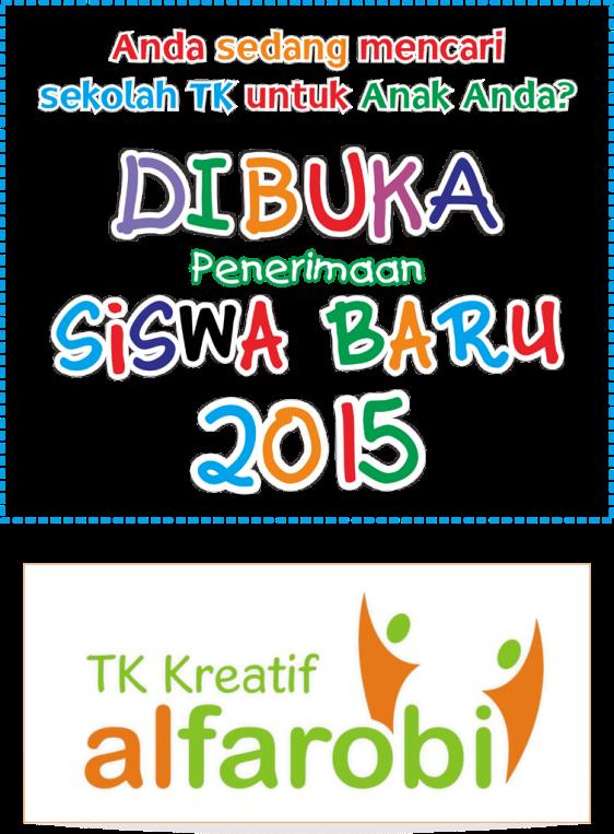 pendaftaran TK Baru 2015 Al Farobi
